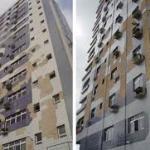 Impermeabilização de fachadas de edifícios