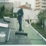Limpeza e impermeabilização de fachadas
